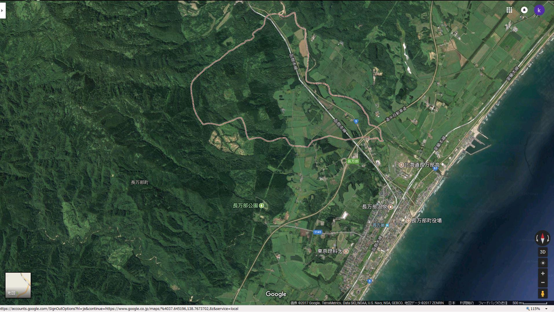 航空写真(地図)